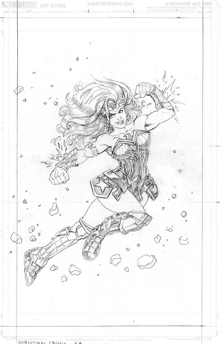 Wonderwoman75years by CrossContour