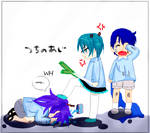 Be nice to kaito or Else
