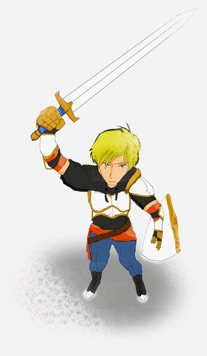 Jaune Arc : Sword sworn by Tsukiko74