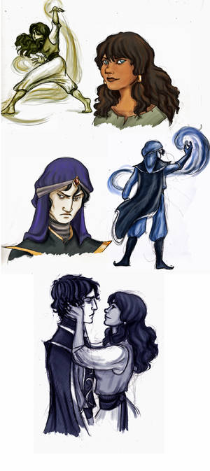 Mozenrath and Sadira