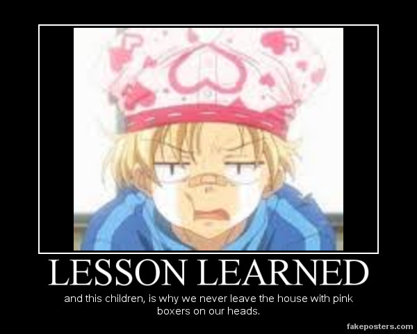 Lesson Learned by popika5554 on DeviantArt   Lesson Learned Poster