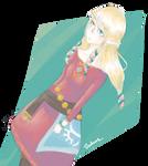 Grumpy Zelda