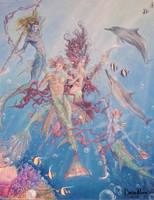 Mermaid Dance by Hullabaloo2