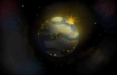 Earth by NightShimer