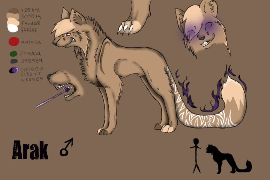 RoA :: Arak Reference Sheet by crystalleung7