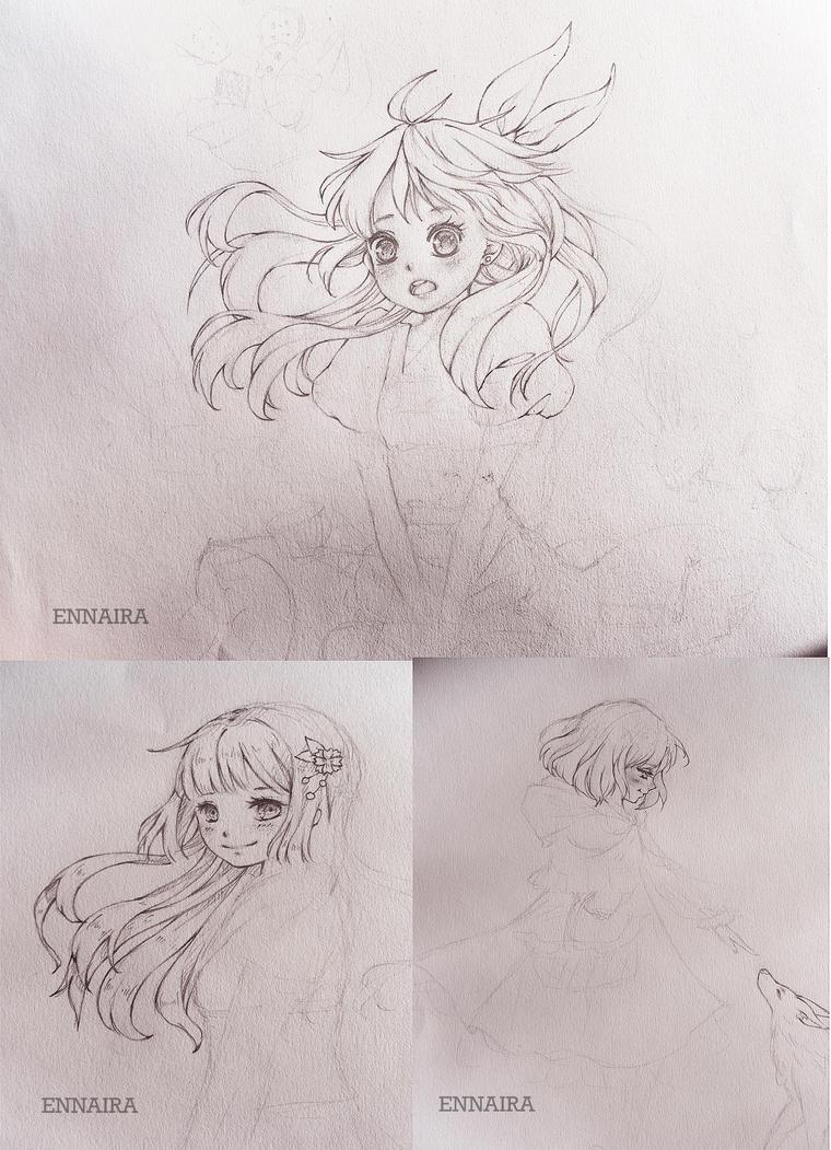 Sketch Dump 2 by blackLynx03