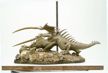 Hunter Dragon Progress shot by girl1