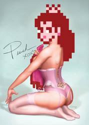 Pin-up Peach by pluckylump