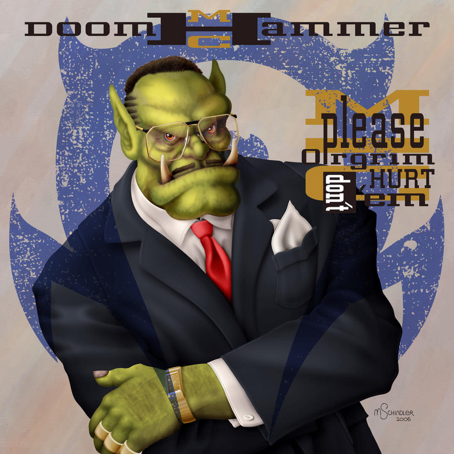 MC Doomhammer by pluckylump