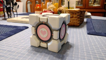 3 in. Weighted Companion Cube