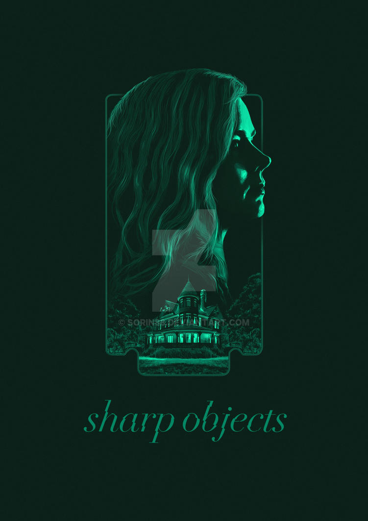Sharp Objects Alternative Poster by sorin88