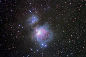Messier 42/43 by Gautama-Siddharta