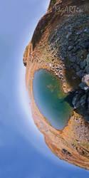 Earth's eye watching you by Gautama-Siddharta