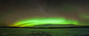 Aurora over Inari