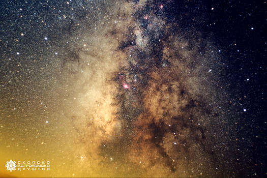 Deep in the center of Milky Way