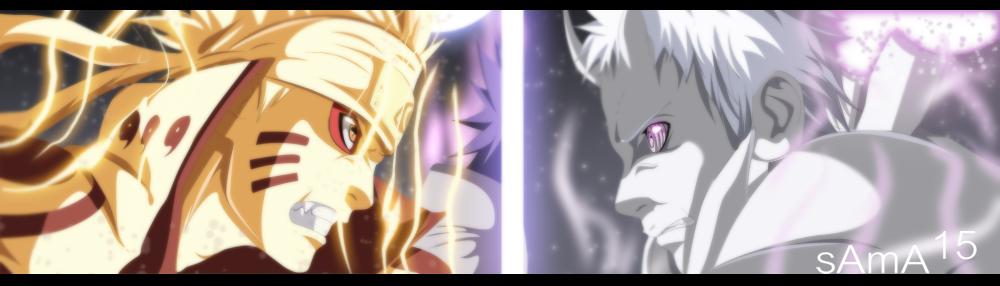 manga Naruto 651 - Naruto and Sasuke Vs Obito by sAmA15