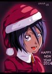happy new year 2014 - rukia