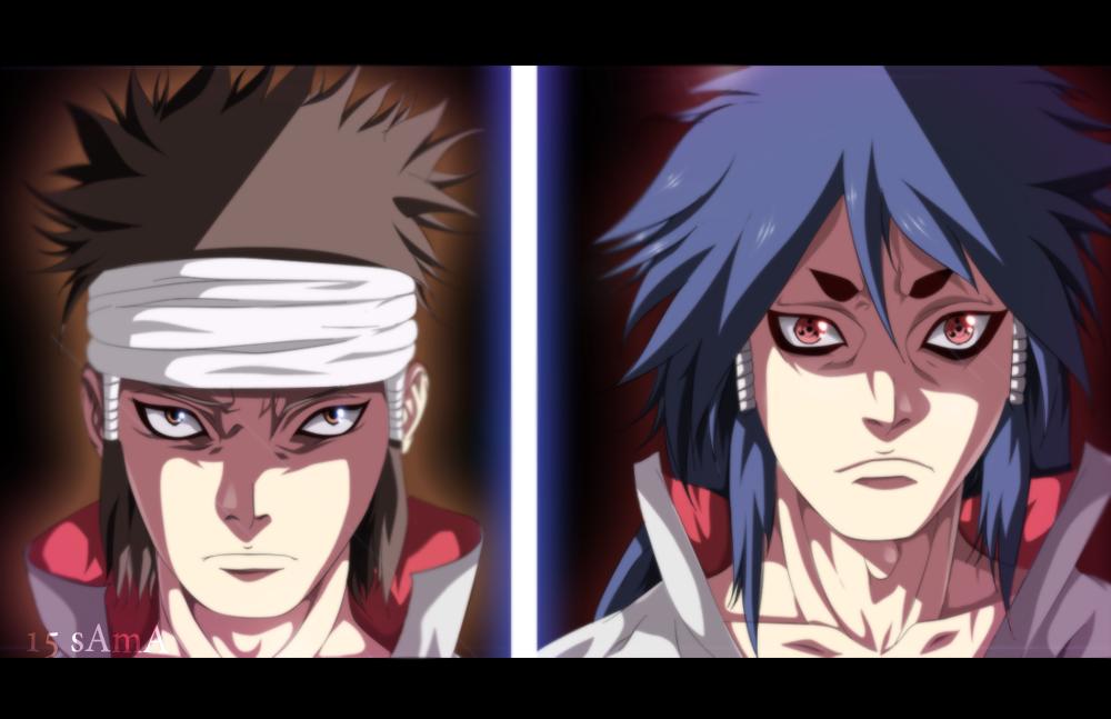 Naruto 670 - Indra And Ashura by sAmA15