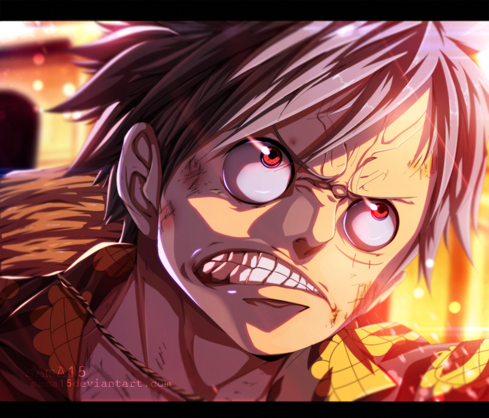 anger luffy manga one piece 782 by sama15 on deviantart