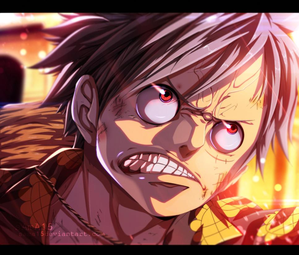 Anger Luffy Manga One Piece 782 By SAmA15