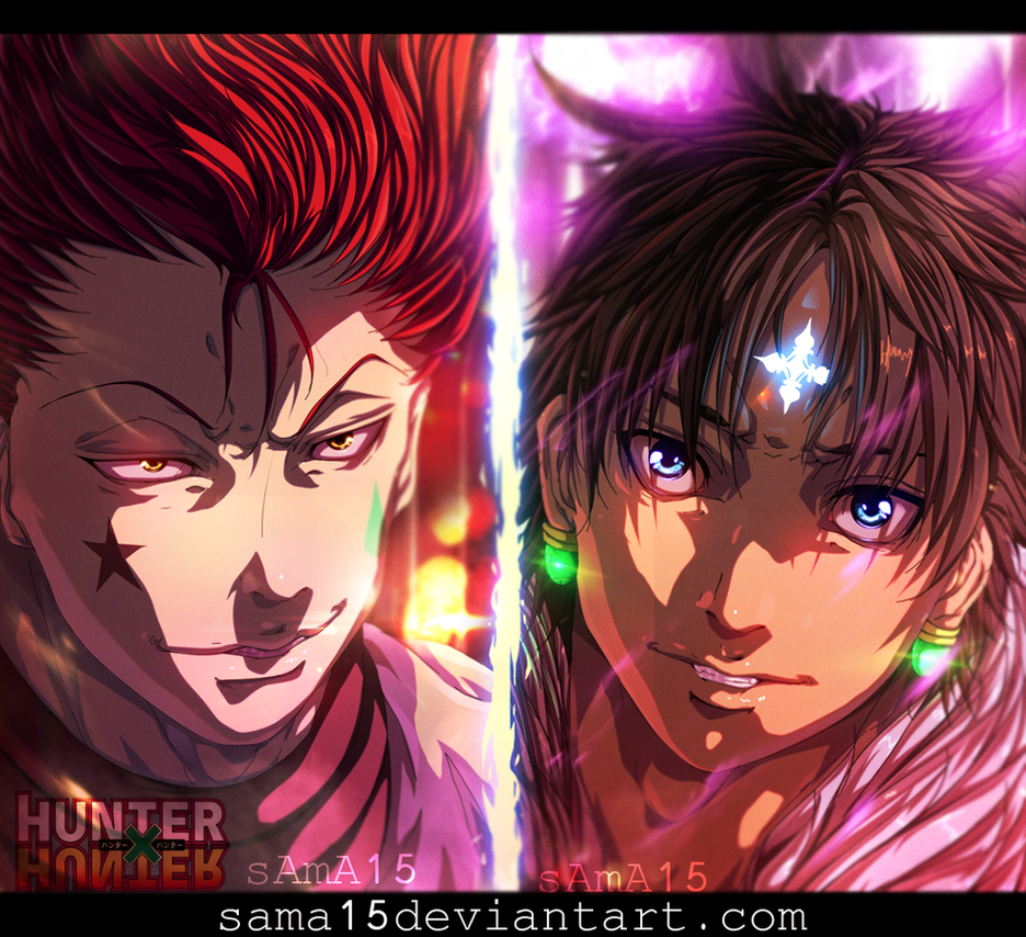 The Pros Of Cons Of Painting Vs Wallpapering: Hisoka Vs Chrollo By SAmA15 On