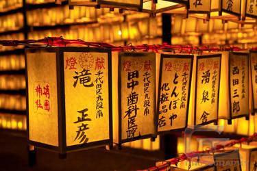 Japanese lanterns by NanoRoux