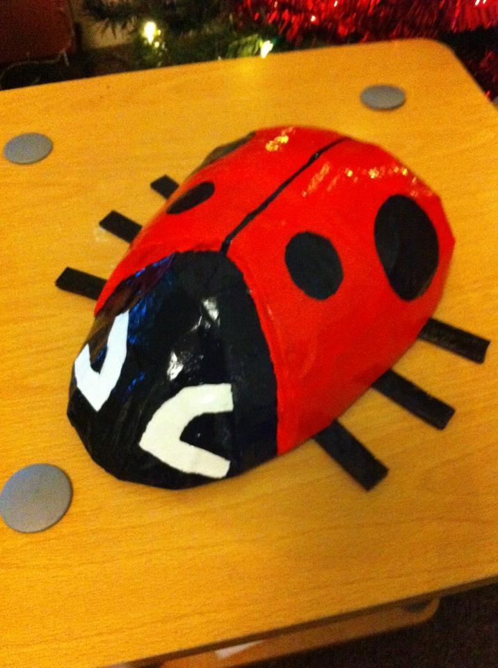 Papier Mache LadyBug by WillziakDS