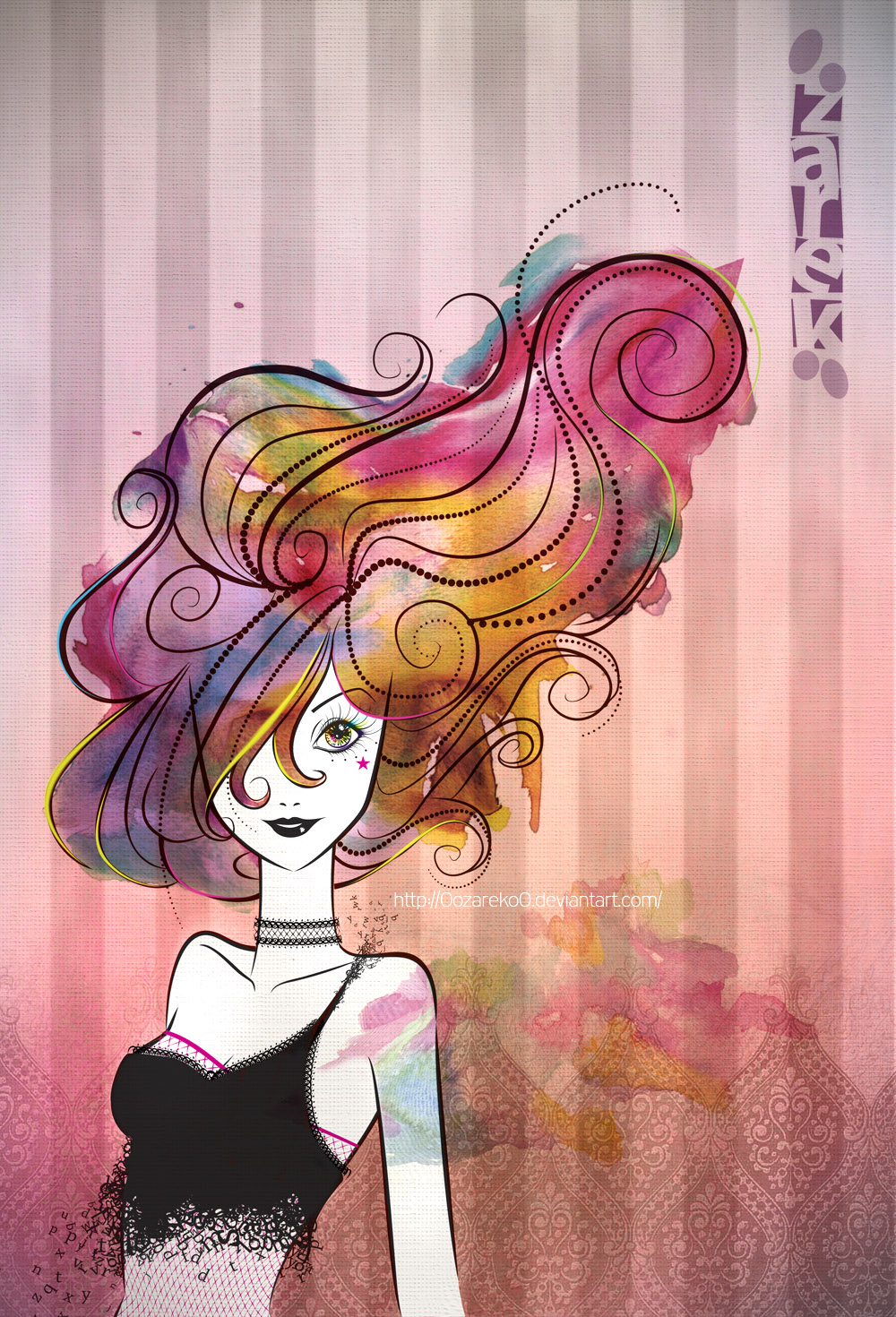 Full Color Hair by YaninSalas