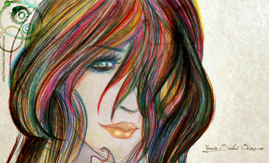 Color hair by YaninSalas