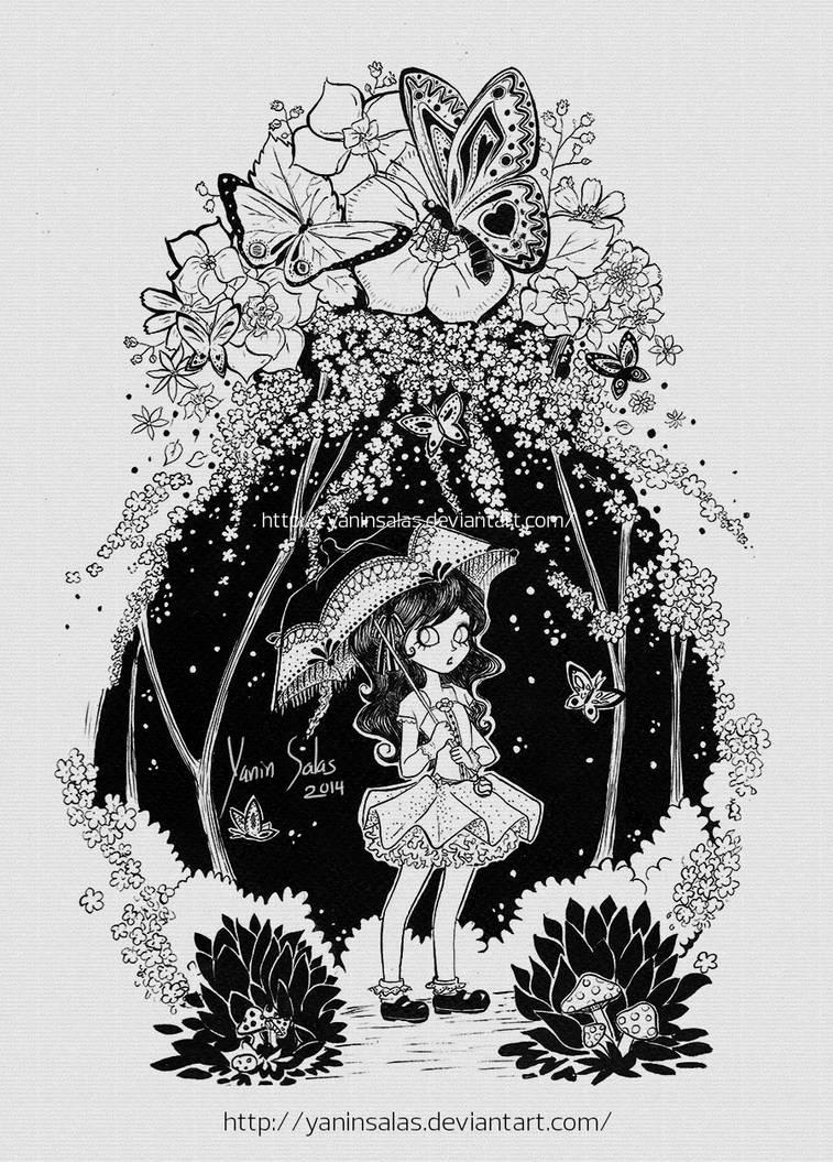 Butterflies by YaninSalas