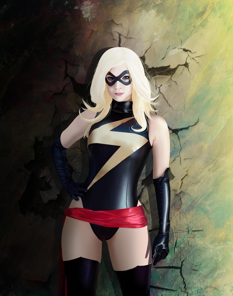 Ms Marvel by Saki-12