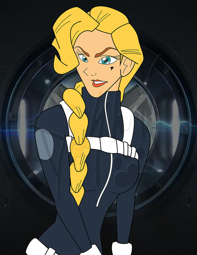 Helga Sinclair - Agent of S.H.I.E.L.D. by LordAkiyama