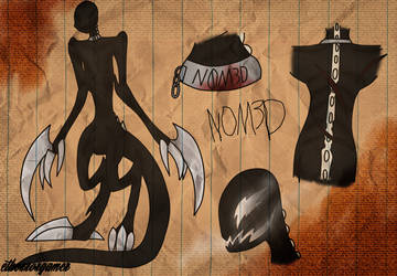 N0M3D Character Sheet by SychoET