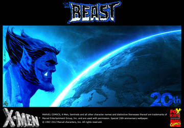 The Beast from X-Men : the Animated Series by ShadowSpit