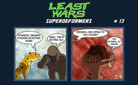 SUPERDEFORMERS - Least Wars # 13 To crunch RATNAP