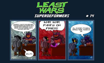 SUPERDEFORMERS - Least Wars # 14 SILVERDOLT
