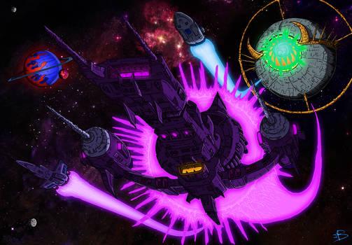 Now go. Destroy the Autobot Matrix !