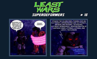SUPERDEFORMERS - Least Wars # 16 MEGAPHONE