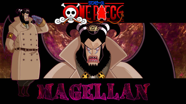 Magellan - ONE PIECE Gol D. Roger's Era Project