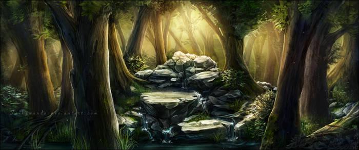 Ruisseau by Taikgwendo