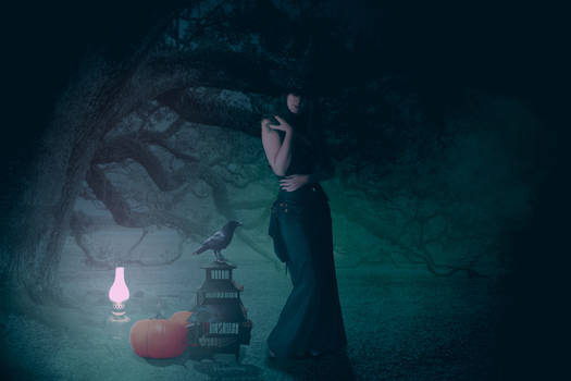 The Tree of the Witch - Halloween