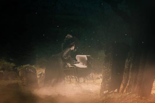 Midnight in Cemetery