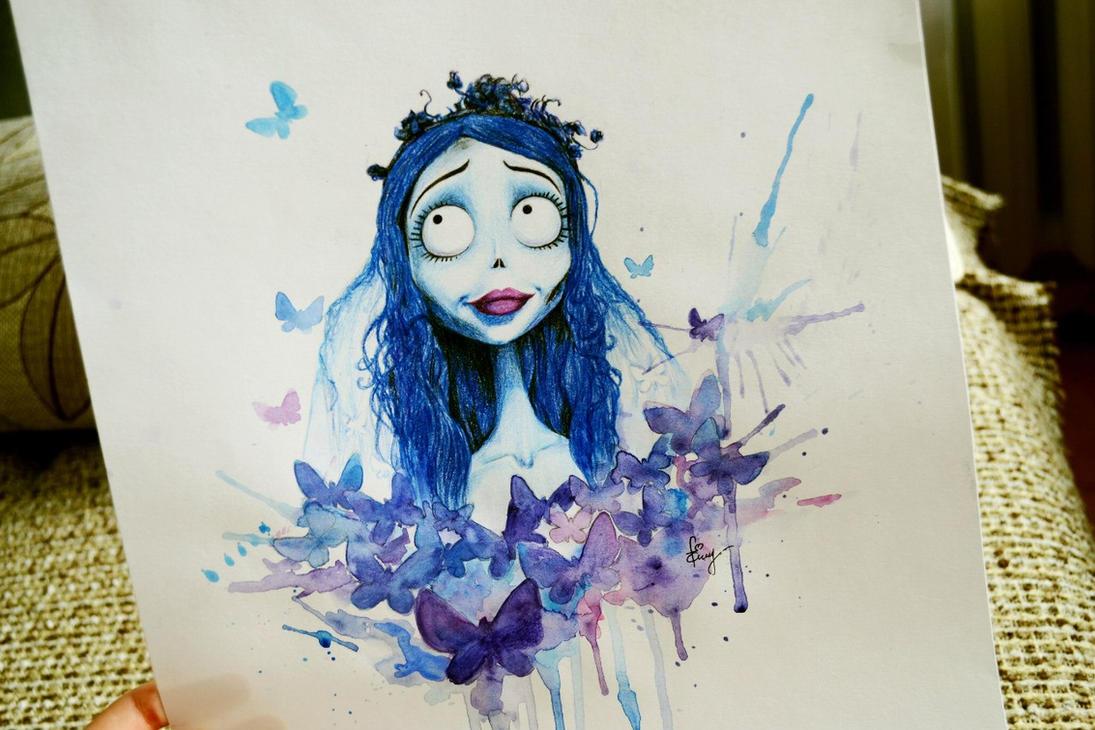 Tim Burton's Corpse Bride by JuliaZombie on DeviantArt