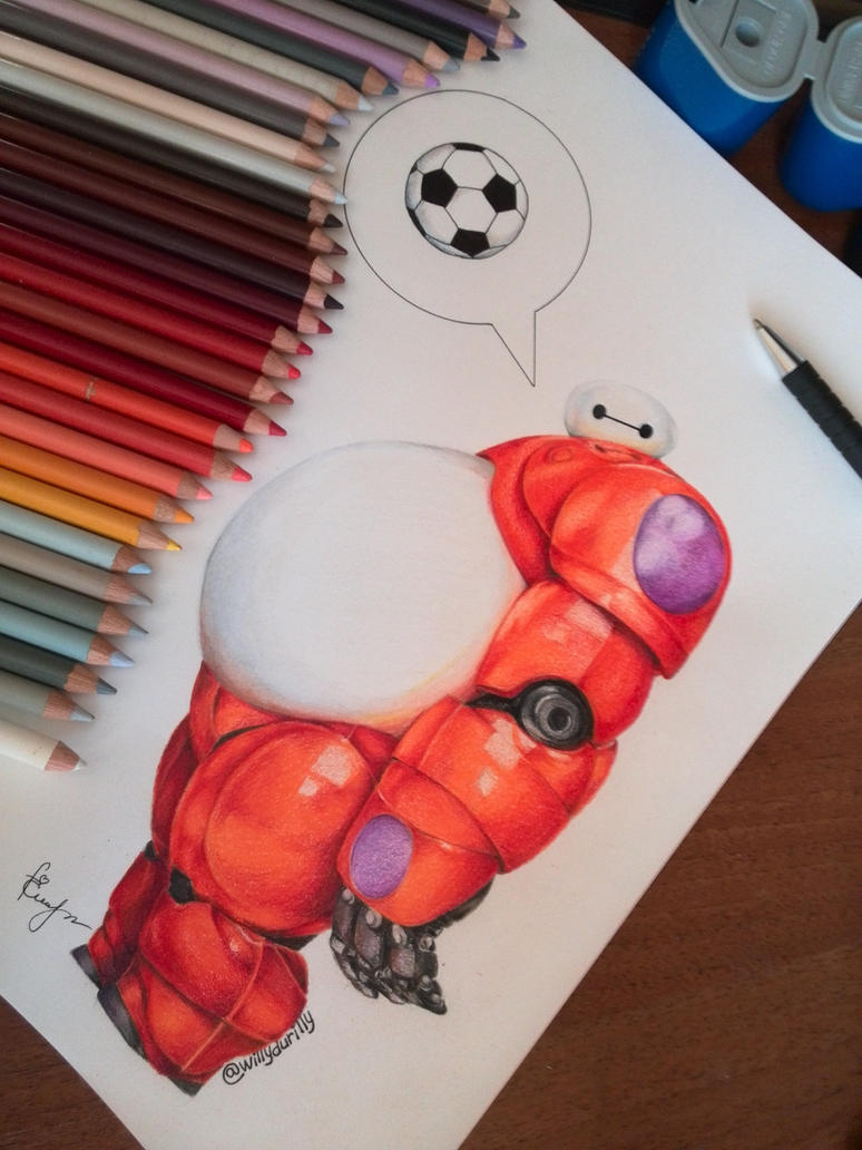 Baymax (Big hero 6) Final Step by JuliaZombie
