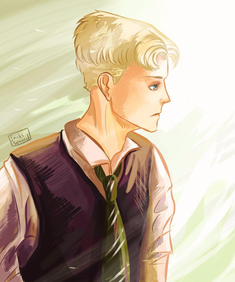 Draco Malfoy by JacksSquirrel16