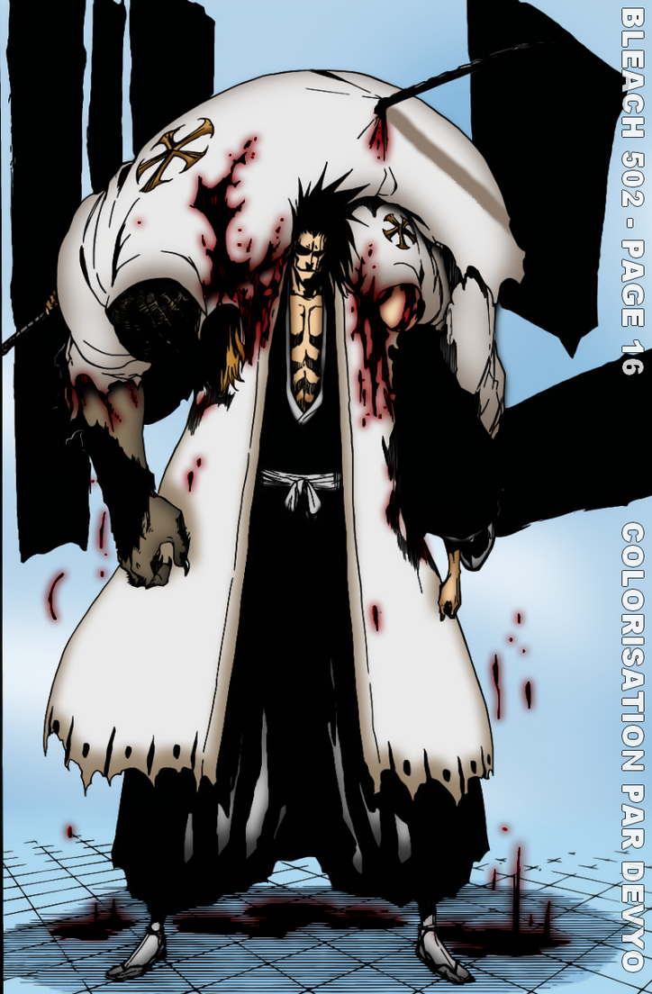 The monster - Zaraki Kenpachi - Return by Kataklyzme