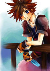 Why I don't really draw Sora by Sobachan