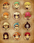 One piece badges