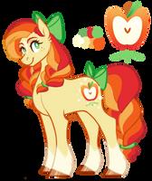 Honeycrisp - Applejack and Rainbow Dash NEXT GEN by wolfyfree