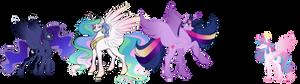 The Princesses - NG WIP